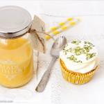Unos Cupcakes de lemon curd muy ingleses